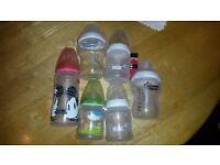 NUK & TOMMEE TIPPEE bottles.