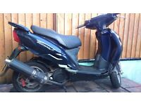 SYM EURO 125 SCOOTER, MOT TILL 23/2/2018 FAST AND RELIABLE