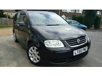 55-2005 VOLKSWAGEN TOURAN 1.9 TDI SE 7SEATER FULL SERVICE HISTORY 6SPEEDS GOOD CONDITION