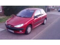 52 Plate 1.1 Peugeot 206, Cheap Runabout, 5 months test