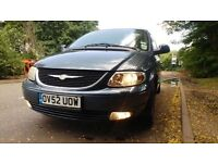 CHRYSLER GRAND VOYAGER LIMITED AUTOMATIC//FULLY LOADED/FULL LEATHER INTERIOR//2 KEYS £950