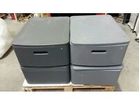 Cabinet single drawer swivel top & lockable