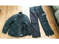 Alpinestar motor bike gear