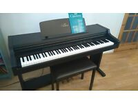 Yamaha Clavinova CLP-411 with stool and manual