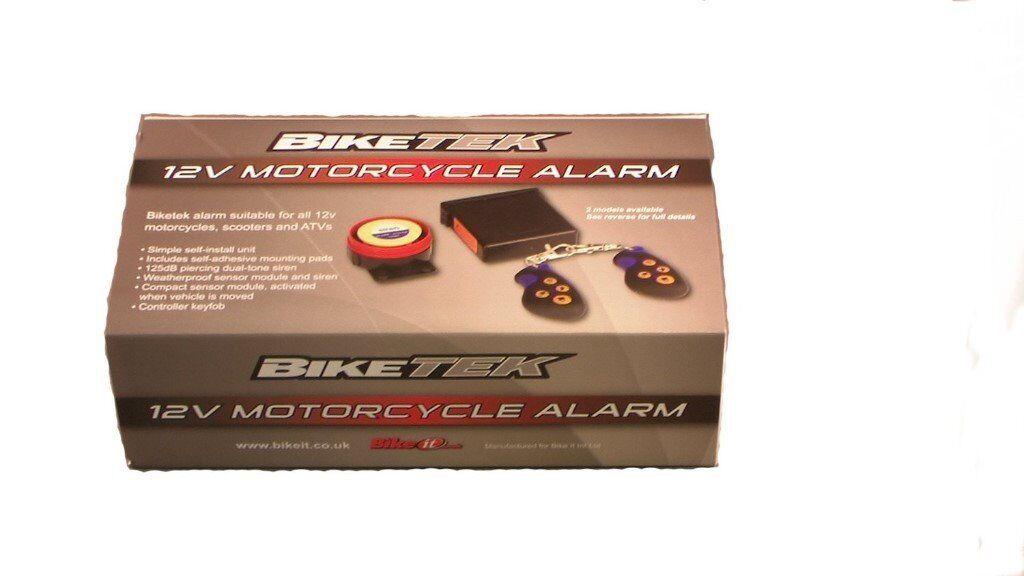 Biketek 12v Motorcycle Alarm - Basic Model From