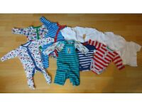 Collection of Excellent Condition Baby Clothes (0-3 months)