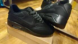 huge selection of ac1bc b412e Nike Air max 90 Triple Black Air force 1 95 Size 6, 7.5, 8.5