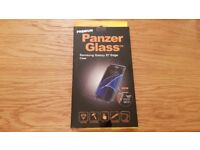 Brand new Panzer Glass Premium S7 Edge Screen Protector - Clear