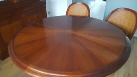 Grange Designer Dining Table & Matching Chairs - Immaculate Showroom Condition