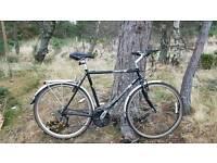 Man's comuter town bike