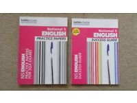 NATIONAL 5 ENGLISH PRACTICE PAPERS & SUCCESS GUIDE BY LECKIE & LECKIE