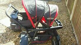 Graco learn to grow stroller