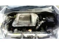 Nissan pathfinder /navara 2.5 DCI engine and gearbox 4wd