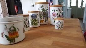 Portmeirion botanic garden storage jars