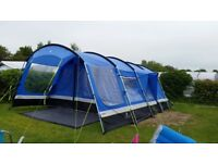 Hi Gear Oasis 6 with canopy ground sheet and carpet plus extras