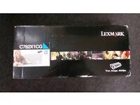 Lexmark C782 cartridge C782X1CG - Cyan extra high capacity