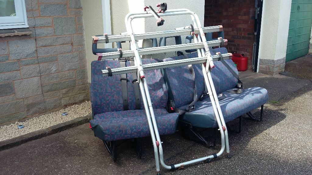 Mercedes benz vito mk1 638 van seats and bike rack in for Mercedes benz bicycle rack