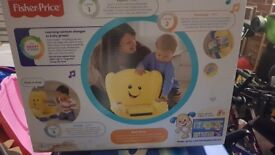 BRAND NEW FISHER PRICE LAUGH AND LEARN YELLOW CHAIR