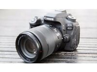 Canon EOS 80D 24.2 MP DSLR Camera - WITH LENS - BRAND NEW!!!