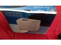 COOKWORKS AUTOMATIC BREADMAKER BRAND NEW AVAILABLE FOR SALE