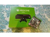 Unopened brand new Xbox one 1tb with gears of war 4