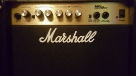 MARSHALL MG15CD GUITAR AMPLIFIERS EXCELLENT CONDITION