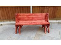 Folding picnic table/bench