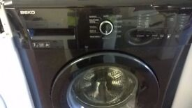 Black Beko 7kg 1200 Washing Machine for sale