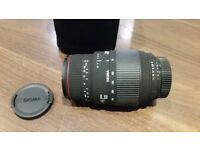 Sigma 70-300mm f/4-5.6 APO DG Macro - Nikon Fit Lens For Sale