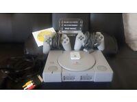 Retro PS1 Bundle (2 Controllers/7 Games)