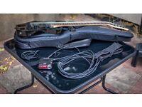 Ibanez RG8 - 8 strings electric guitar + extras