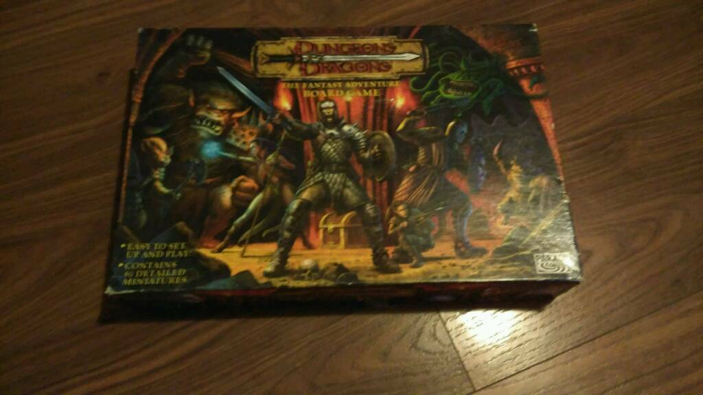 Dungeons and Dragons board game.