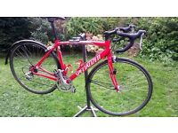SPECIALIZED ALLEZ ROAD BIKE. VERY GOOD CONDITION WITH EXTRAS.