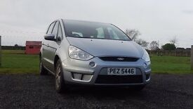 Ford S Max Zetec, 1.8 diesel, metallic silver, 7 seater