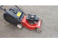 laser petrol lawn mower by mountfield