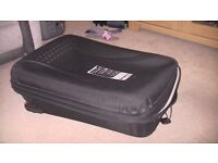3 piece frameless wheeled suitcases-