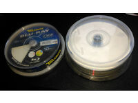 TRAXDATA BLU-RAY BLANK WHITE PRINTABLE DISC'S
