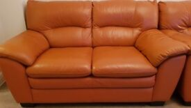 World of Leather Braze 2 Seater Leather Sofa