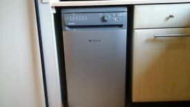 For sale a nearly new hotpoint aquarius slimline dishwasher