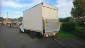 Citroen Relay, Luton van with a tail lift