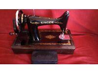 Lovely vintage singer sewing machine
