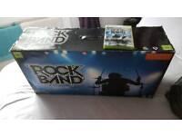 Xbox 360 rock drum set brand new