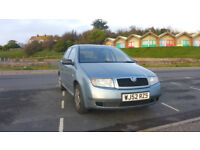 SKODA FABIA 2002 1.4 Petrol Full service history 12 Month MOT Great First Car or Car to Learn In