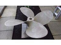 Bronze propeller