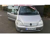 AUTOMATIC Mercedes A160 AVANTGARDE SEMI AUTO 5 doors TOP SPEC will go with Full Year Mot Alloys