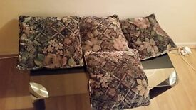 4 cushions. Excellent condition. Only £3