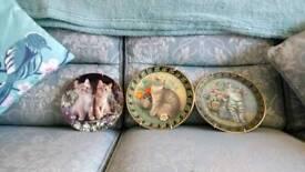 Royal doulton Worcester plaques