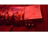Selling unwanted Lost village ticket.