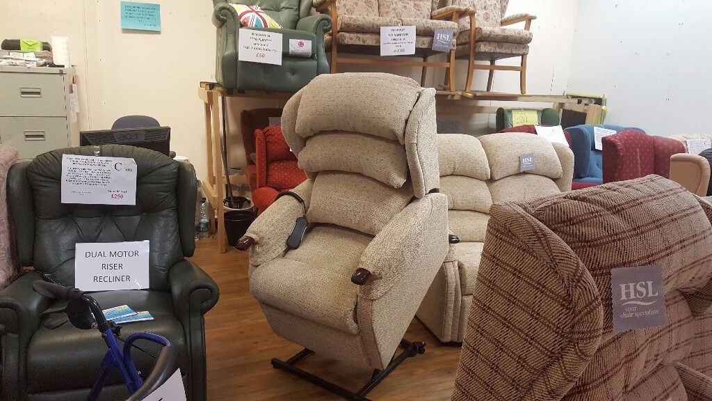 HSL Linton Dual Motor Riser Recliner Chair, Delivery Available