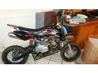 Pit bike for sale 110cc runs and rides great no faults at all